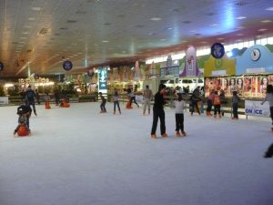 ιδεες για χειμωνιατικα παιδικα παρτυ παγοδρομιο
