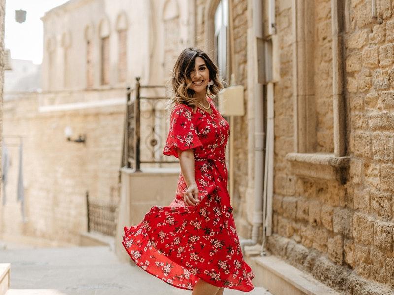 φλοραλ φορεμα